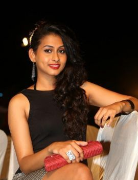 Telugu Actress Nithya Naresh Stills at Kerintha Audio Launch