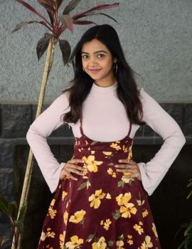 Telugu Actress Nithya Shetty at Elite New Year Eve 2019 Ticket Launch