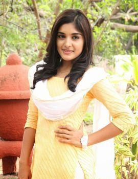 Nivetha Thomas Stills at Anurag Production Movie Launch