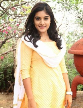 Nivetha Thomas Stills at Anurag Production Movie Launch