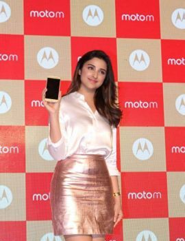 Parineeti Chopra Stills at Motorola Moto M Launch