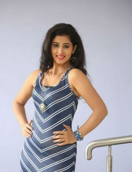 Pavani at Lovers Club Movie Pre Release Event