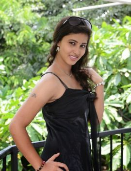 Pavani Photos in Black Dress at KKMK Movie Launch