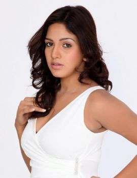 Pavani Reddy Photoshoot Stills in White Dress & Denim Jeans