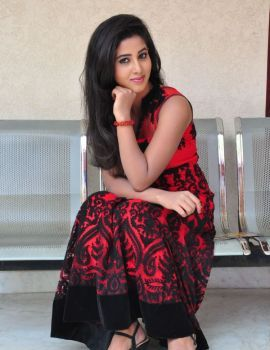 Pavani Reddy Stills at Eluka Majaka Movie Press Meet