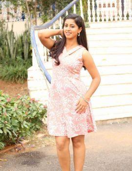 Telugu Actress Pavani at National Silk Expo Launch