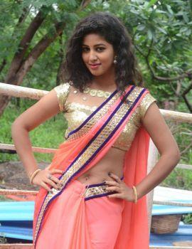 Telugu Heroine Pavani Reddy Photos in Saree