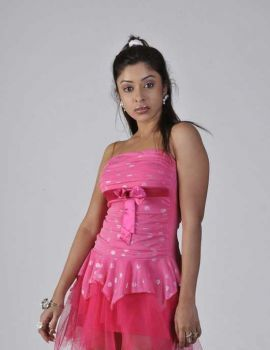 Actress Payal Ghosh Photoshoot Stills in Pink Dress