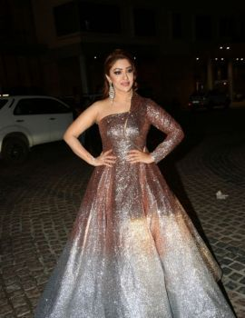 Payal Ghosh at 65th Jio Filmfare Awards (South) 2018