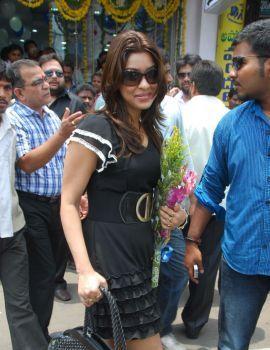 Telugu Actress Payal Ghosh Stills at Mee Mobiles Launch in Vijayawada