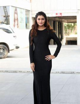 Actress Payal Rajput Stills at Venky Mama Movie Thanks Meet