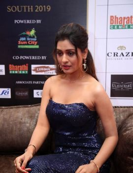 Payal Rajput stills at Dadasaheb Phalke Awards South 2019 Red Carpet