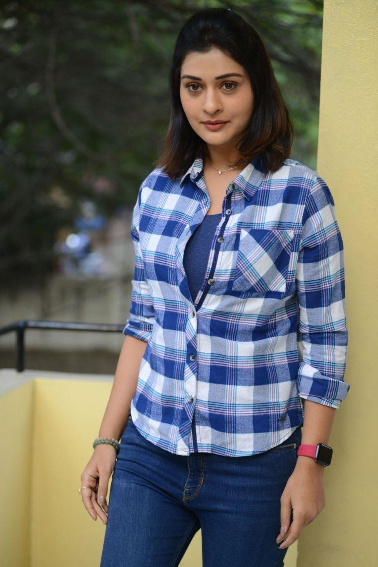 Telugu Actress Payal Rajput Stills from 5Ws Movie Poster Launch