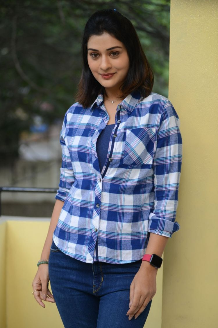 Telugu Actress Payal Rajput Stills from 5Ws Movie Poster Launch