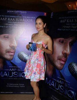 Pooja Bose at Aap Se Mausiiquii Music Album Launch