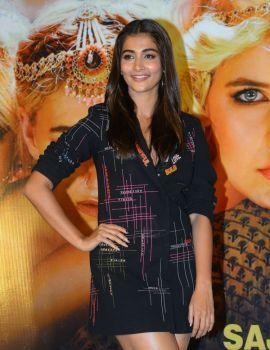 Pooja Hegde Stills at Housefull 4 Movie Promotion