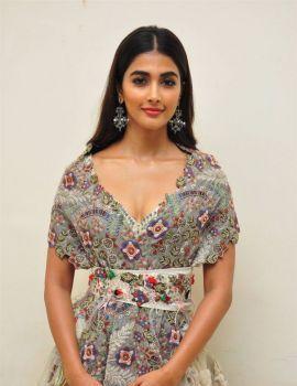Pooja Hegde Stills at Saakshyam Movie Audio Release Function