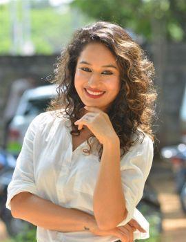 Pooja Ramachandran Photos at Love and War Movie Trailer Launch