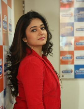 Poonam Bajwa Stills at Radio City FM Station