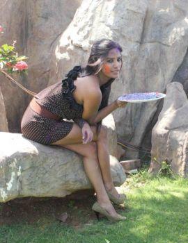 Bollywood Actress Poonam Pandey Promotes Waterless Holi