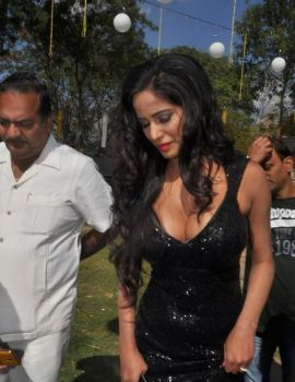 Poonam Pandey New Years Party in The City