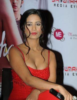 Poonam Pandey Stills from Nasha Movie Promotion in Hyderabad
