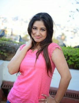 Prabhjeet Kaur Latest Stills in Pink Top & Blue Short