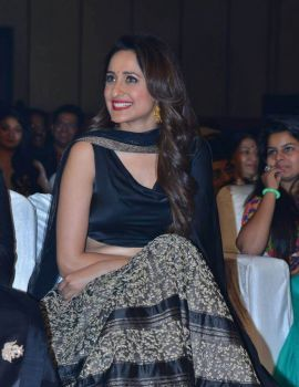 Pragya Jaiswal Stills at Om Namo Venkatesaya Movie Audio Launch