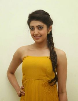 Pranitha Stills at Alludu Seenu Audio Launch