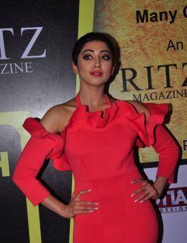 Pranitha Stills at South Scope Lifestyle Awards 2016 Red Carpet