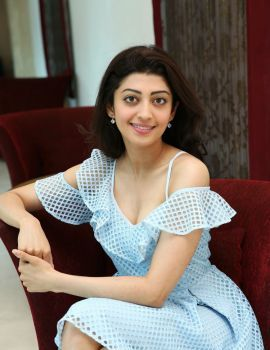 Pranitha Subhash Pics at Comio Smartphones Press Conference