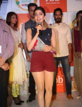 Pranitha Subhash Stills at Big Bazaar Navratri Collections Launch