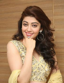 Pranitha Subhash Stills at Hello Guru Prema Kosame Movie Success Meet