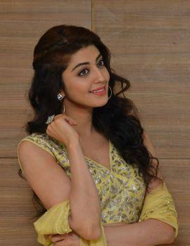 Pranitha Subhash Stills at Hello Guru Prema Kosame Movie Success Meet