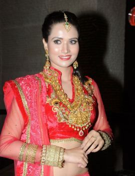 Preeti Rana in Designer Lehenga at GR8! Women Awards