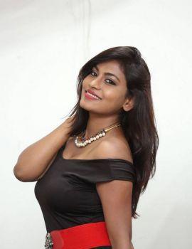 Priyanka Augustin at 4 Idiots Movie Launch