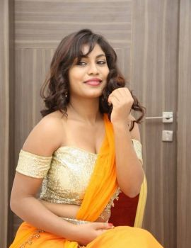Priyanka Augustin Photos at Runam Movie Audio Launch