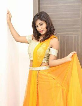 Priyanka Augustin Photos at Runam Movie Audio Launch