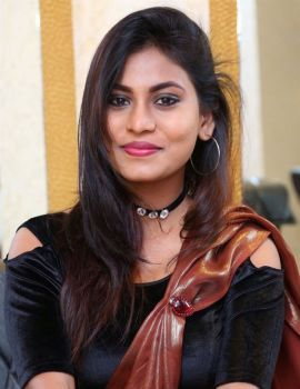 Telugu Actress Priya Augustin Hot Saree Photoshoot Stills