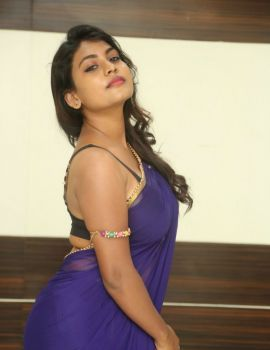 Telugu Actress Priyanka Augustin Stills at Jawed Habib Salon Launch