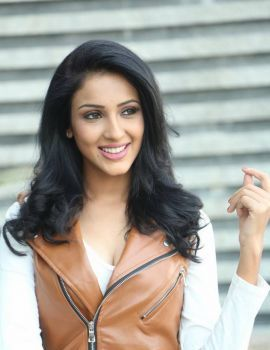 Priya Shri Stills at Box Cricket League Logo Launch