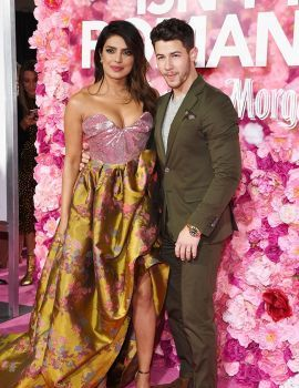 Priyanka Chopra and Nick Jonas at Isn't It Romantic Premiere in Los Angeles