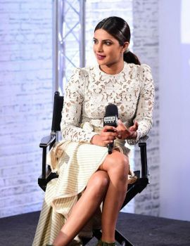 Priyanka Chopra at AOL Build Series in London