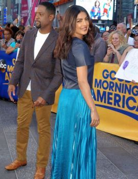 Priyanka Chopra at Good Morning America in New York 2016