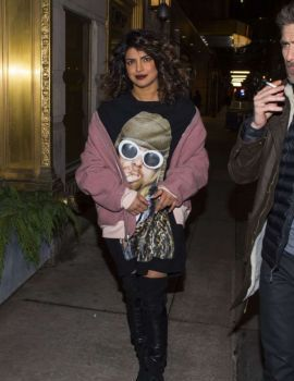Priyanka Chopra Heading Out for Dinner in New York City