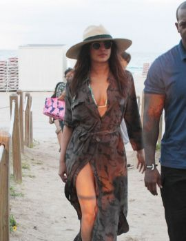 Priyanka Chopra in Miami Beach
