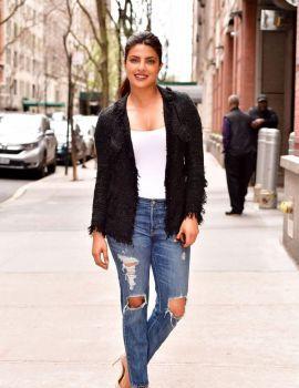 Priyanka Chopra Leaves Live With Kelly in NYC