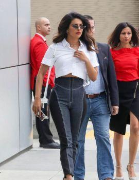 Priyanka Chopra Leaves Microsoft Theater in Los Angeles