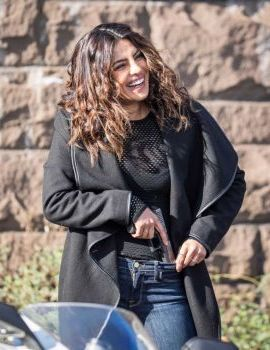 Priyanka Chopra on the Set of Quantico Season 3
