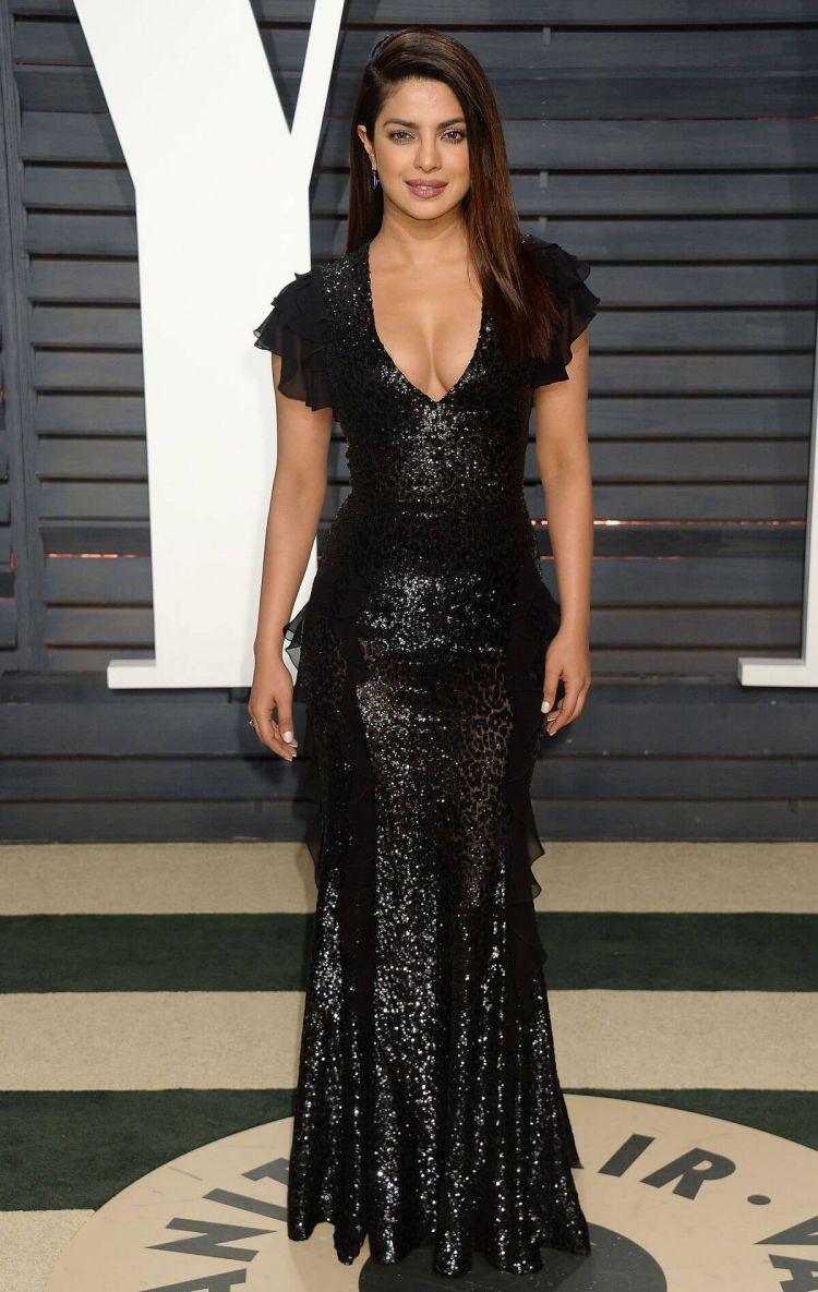 Priyanka Chopra Photos at 2017 Vanity Fair Oscar Party in Beverly Hills